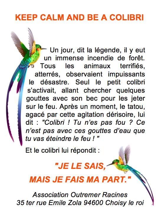 legende colibri